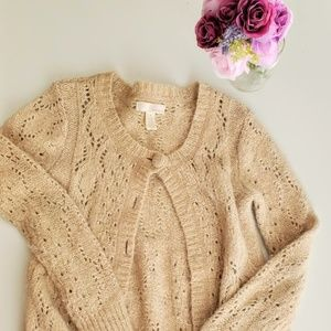 Kaisley Sweater Long Sleeve Knit Brown